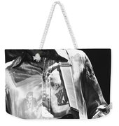 Mick In Spokane 1977 Weekender Tote Bag