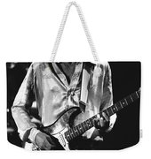 Mick On Guitar 1977 Weekender Tote Bag