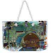 Mick's Drums Weekender Tote Bag by Paulette B Wright
