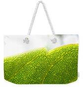 Micro Leaf Weekender Tote Bag