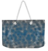 Microscopic Scale - Blue Weekender Tote Bag
