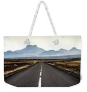 Middle Of Nowhere Weekender Tote Bag