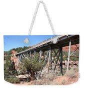 Midgley Bridge And Oak Creek Canyon  Weekender Tote Bag