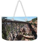 Midgley Bridge Over Oak Creek Canyon Weekender Tote Bag