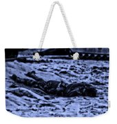 Midnight Battle All Alone Weekender Tote Bag