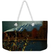 Midnight Blue In The Mountains Weekender Tote Bag