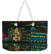 Midnight City Weekender Tote Bag