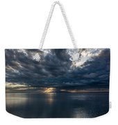 Midnight Clouds Over The Water Weekender Tote Bag
