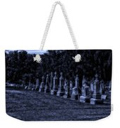 Midnight In The Garden Of Stones Weekender Tote Bag by Thomas Woolworth