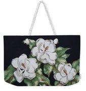 Midnight Magnolia Weekender Tote Bag