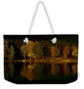 Midnight On The Lake Weekender Tote Bag