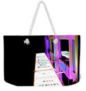 Midnight Perspective Weekender Tote Bag