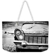 Midnight Ride Weekender Tote Bag by Scott Pellegrin