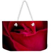 Midnight Rose Weekender Tote Bag