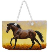 Midnight Sun Weekender Tote Bag by Crista Forest