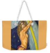Midnight Surfer Weekender Tote Bag