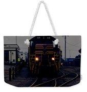 Midnight Train Weekender Tote Bag