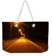 Midnight Walk Weekender Tote Bag