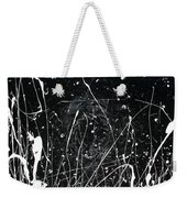 Midnight Weeds Weekender Tote Bag