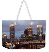 Midtown Atlanta Skyline At Dusk Weekender Tote Bag