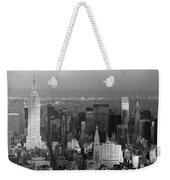 Midtown Manhattan 1980s Weekender Tote Bag