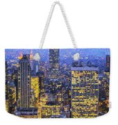 Midtown Manhattan And Empire State Building Weekender Tote Bag