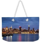 Midtown Manhattan Weekender Tote Bag