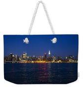 Midtown Manhattan Skyline View Weekender Tote Bag