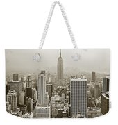 Midtown Manhattan With Empire State Building Weekender Tote Bag