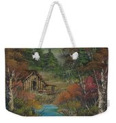 Midwestern Landscape Weekender Tote Bag