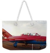 Mig Trainer Jet Weekender Tote Bag