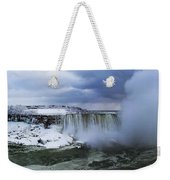 Mighty Cold Niagara Weekender Tote Bag