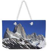 Mighty Mount Fitz Roy Weekender Tote Bag