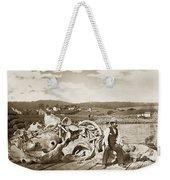 Mike Noon Monterey Whaler On Montereys Wharf  Circa 1890 Weekender Tote Bag