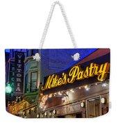 Mike's Pastry Shop - Boston Weekender Tote Bag by Joann Vitali
