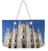 Milan Cathedral  Weekender Tote Bag