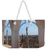 Milan Cathedral Rooftop View Weekender Tote Bag
