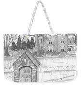 Mile Marker And Victorian Weekender Tote Bag