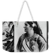 Milena Vukotic (1847-1923) Weekender Tote Bag