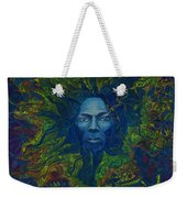 Miles. Aura. Into Creation Weekender Tote Bag