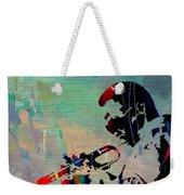 Miles Davis Jazzman Weekender Tote Bag