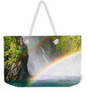 Milford Sound Weekender Tote Bag by Tom Gowanlock