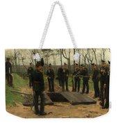 Military Funeral Weekender Tote Bag