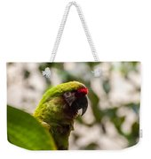 Military Macaw Weekender Tote Bag