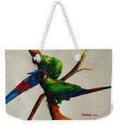 Military Macaws Weekender Tote Bag