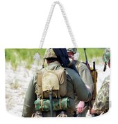 Military Small Arms 03 Ww II Weekender Tote Bag by Thomas Woolworth