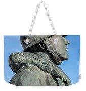 Military Soldier Weekender Tote Bag