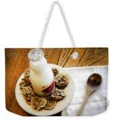 Milk And Cookies Weekender Tote Bag