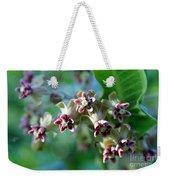 Milkweed Bloom Weekender Tote Bag