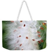 Milkweed Explosion Weekender Tote Bag